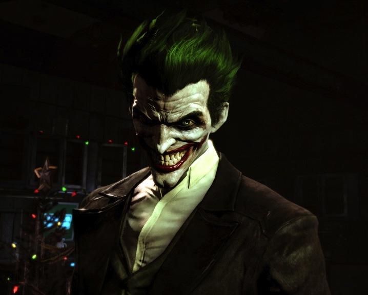 scary joker batman